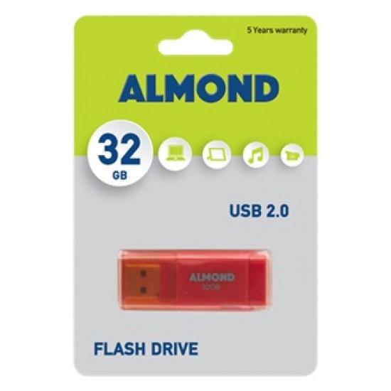 USB 2.0 ALMOND 32GB ORAGE