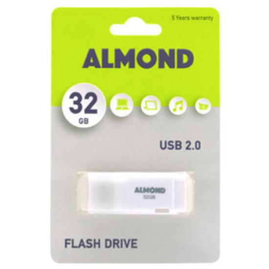 USB 2.0 ALMOND 32GB WHITE