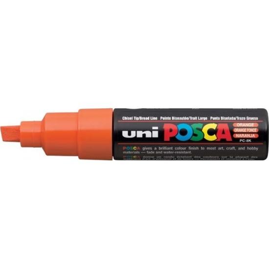 Μαρκαδόρος σχεδίου Uni Posca PC-8K 8.0mm Πορτοκαλί