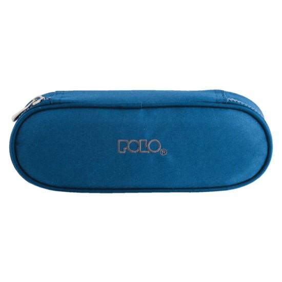 Κασετίνα Polo Box Μπλε σκούρα