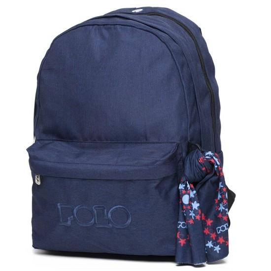 Σακίδιο ORIGINAL DOUBLE POLO Μπλε (05)