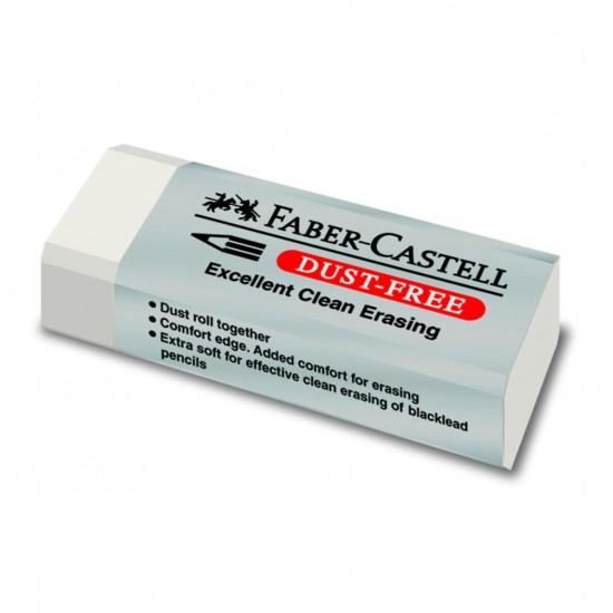 Γόμα Faber Castell dust-free μικρή