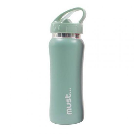 ΠΑΓΟΥΡΙΑ MUST ΜΟΝΟΧΡΩΜΑ 500 ml BPA FREE ΠΡΑΣΙΝΟ ΑΝ.