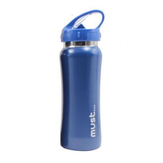 ΠΑΓΟΥΡΙΑ MUST ΜΟΝΟΧΡΩΜΑ 500 ml BPA FREE ΜΠΛΕ