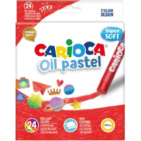Λαδοπαστέλ Carioca Oil Pastel 24 χρωμάτων