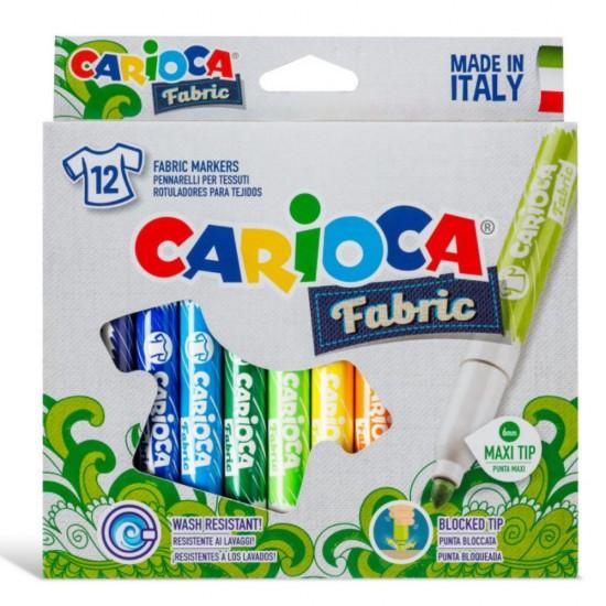 Carioca Fabric 12 χρωμάτων