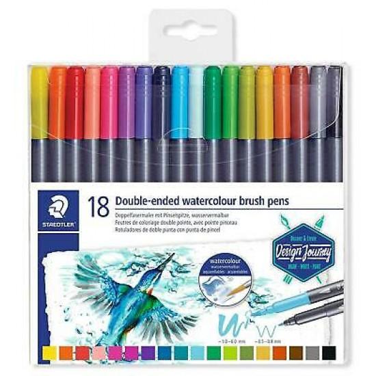 staedtler Διπλοί Μαρκαδόροι 18 χρωμάτων
