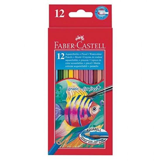 Faber-Castel 12 Ξυλομπογιές ακουαρέλας
