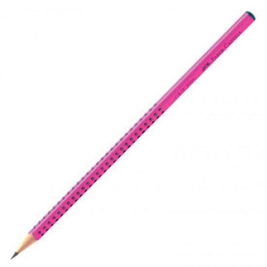 Faber-Castell 2001 Grip 2=B Ροζ
