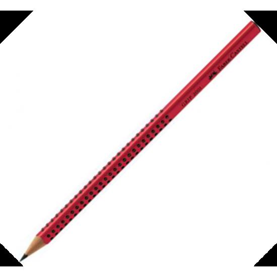 Faber-Castell 2001 Grip 2=B Σκούρο Κόκκινο