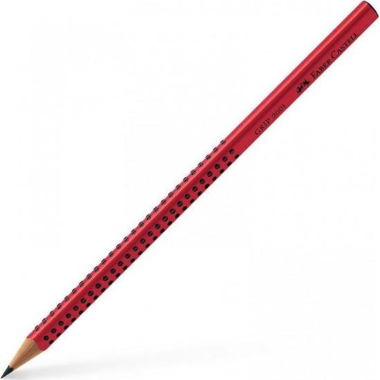 Faber-Castell 2001 Grip 2=B Κόκκινο