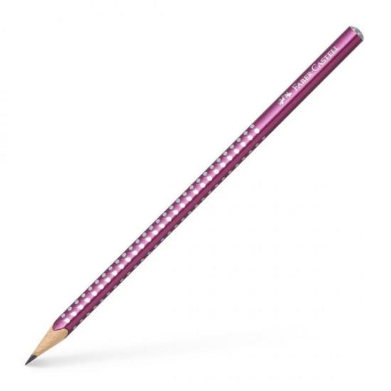FABER-CASTELL μολύβι SPARKLE Μπορντώ