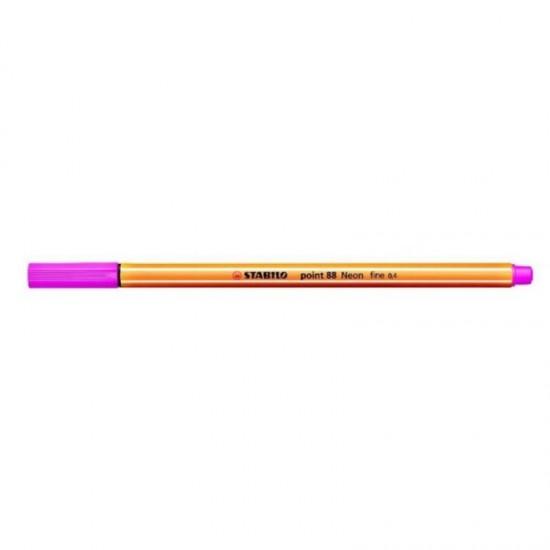 Stabilo point 88/056 Ροζ Φωσφοριζέ