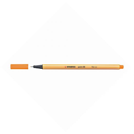 Stabilo point 88/54 Πορτοκαλί