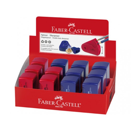 Ξύστρα Faber Castell Double Hole