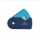 Ξύστρα Faber Castell Sleeve Mini Μονή Μπλε